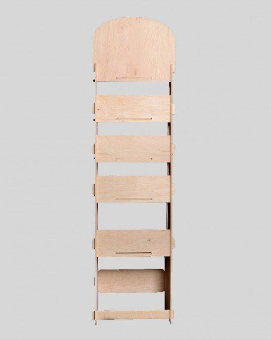 Дисплей от дърво IDEA3017 - Стоящи стелажи