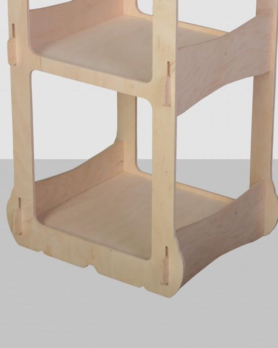Елегантен дисплей с 360 градусов достъп IDEA3047 - Стоящи стелажи