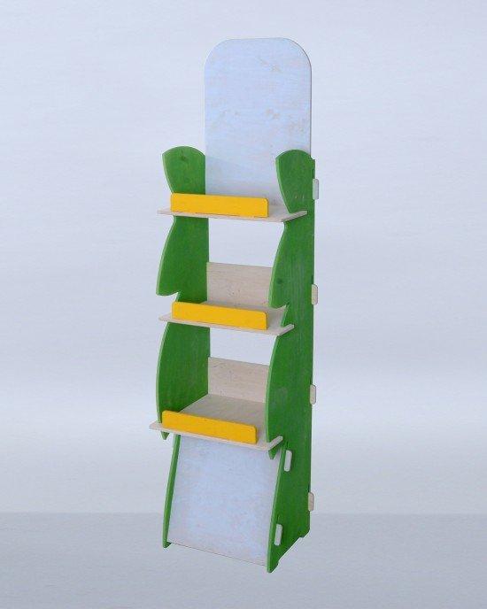 Дисплей от дърво IDEA3053 - Стоящи стелажи