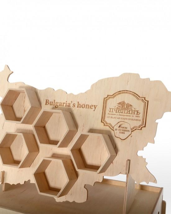 Оригинален стелаж за мед IDEA3062 - Настолни стелажи