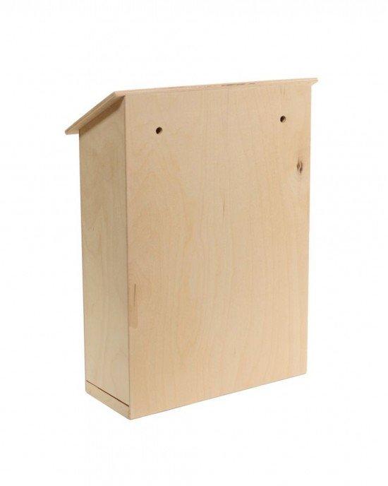 Дървена кутия за писма 35х29х12см IDEA1500 - Домашен интериор